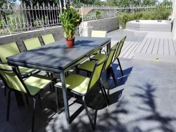 Création et pose d'une terrasse en béton à Vertou