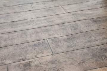 Réalisation d'une allée et terrasse en béton imprimé au Sud de Nantes