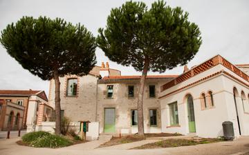 Rénovation de façade en chaux à Clisson